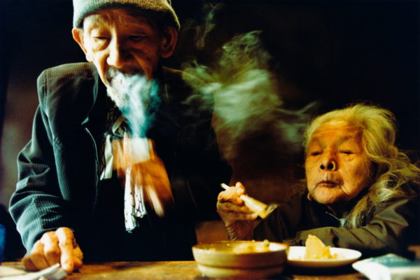 13_Eriko Koga_Asakusa Zenzai_New Year's Eve_2007_24×36mm