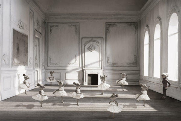 """""""The five positions"""", from the Florentine suite. Size 77x120 cm."""